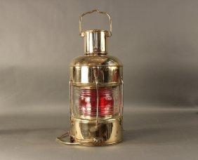 Solid Brass Ship�s Anchor Lantern