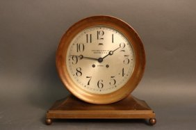 Eight Inch Chelsea Ship's Bell Clock