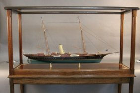 Lot Lannan Ship Model Gallery Moving Auction