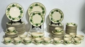 "76pc. Franciscan Dinnerware ""Ivy"""