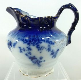 American Flow Blue Pitcher