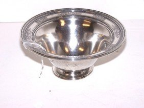 International Sterling Silver Bowl