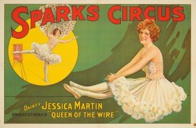 Sparks Circus / Jessica Martin. 1925
