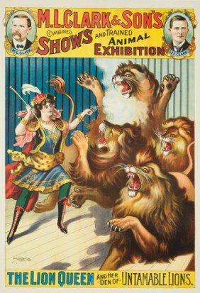 M.L. Clark & Sons / The Lion Queen.