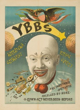YBBS / A Clown Act. Ca. 1895
