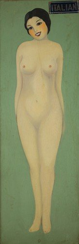 Coney Island Nude Of The World: Italian. Ca. 1940