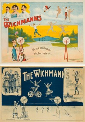 The Wichmanns: 2 Posters.