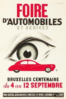 Foire D�Automobiles / Bruxelles. Ca. 1935