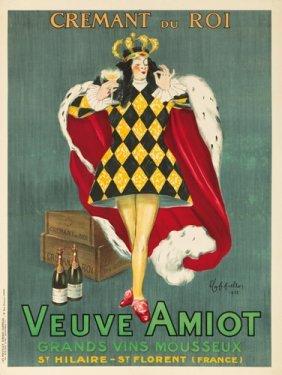 Veuve Amiot / Cr�mant Du Roi. 1922