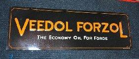 """Veedol Fordzol """"The Economy Oil For Fords"""" SST Embo"""