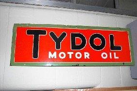 Tydol Motor Oil SSP Sign,  14x42 Inches,