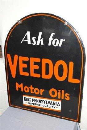 """Veedol Motor Oil """"100 % Pennsylvania Supreme Qualit"""