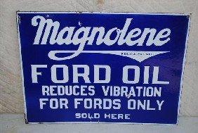 """Magnolene Ford Oil """"Reduces Vibration For Fords Onl"""