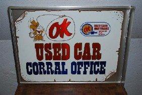 (Chevrolet) OK Used Car Corral Office,  Aluminum Fl