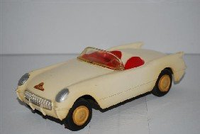 1954? Chevrolet Corvette Convertible Promo Car, P