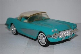 1956? Chevrolet Corvette Coupe Promo Car, Light B