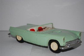"1955 Ford Thunderbird Convertible ""Sea Foam Green"