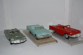 2-1960 Ford Thunderbird Convertibles & 1961, Prom