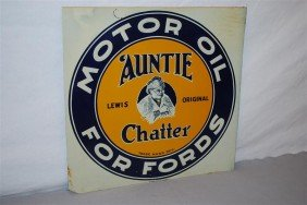 Lewis Original Auntie Chatter Motor Oil For Fords W