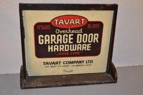 Salesman Sample Tavart Overhead Garage Door Hardwar