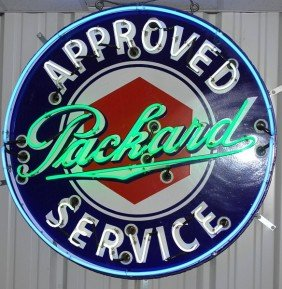 Approved Packard Service SSP Neon Sign, 42 Inches,