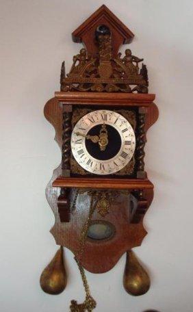 226 Dutch Zaanse Schans Atlas Wall Clock Lot 226