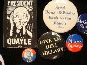 Presidential Campaign Memorabilia, Dewey To Kerry: