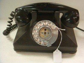 Vintage Bakelite Rotary Dial NORTHERN ELECTRIC Phon