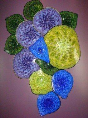 THOMAS LONG Hand-blown Glass Sculpture: