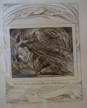 WILLIAM BLAKE Plate XIII From Blake Illustrations: