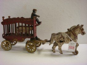 KENTON LOCK Toy Overland Circus Wagon: