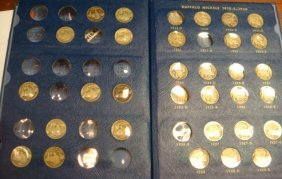 44 BUFFALO NICKELS In Display Book: