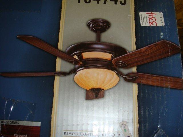 334 Harbor Breeze 56 Quot Exeter Ceiling Fan Lot 334