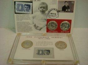2 Kennedy Half Dollar Commemorative Sets 4 1964 Coi
