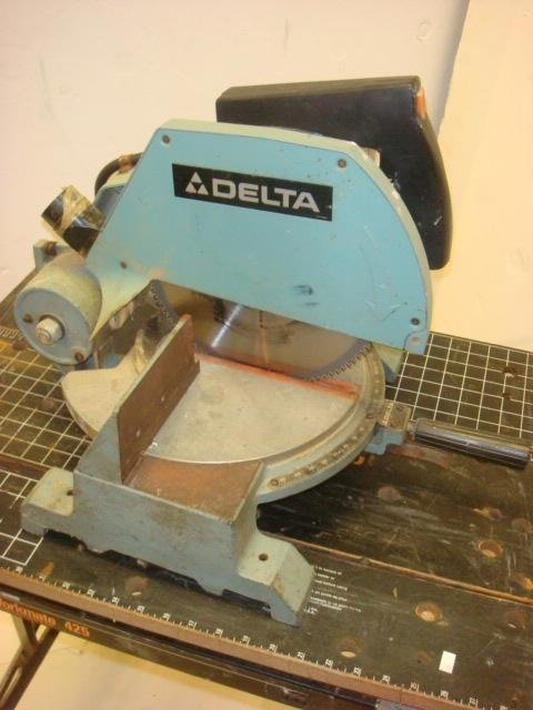 Delta 10 Quot Motorized Miter Saw Model 34 080 Lot 161
