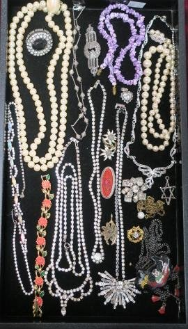 Collection Of Ladies Costume Jewelry: