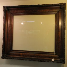 Elegant Antique Museum Quality Mixed Wood Frame: