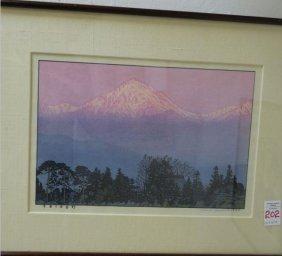 Woodblock Print By Toshi Yoshida, Hiroshi Yoshidas Son: