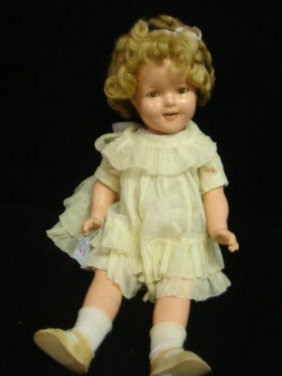 Composition Shirley Temple Ideal Doll: