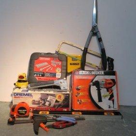 Handyman's Tool Box, Craftsman, Black & Decker, Dewalt