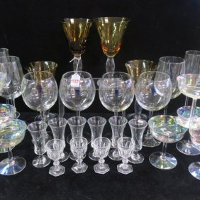 Collection Of Assorted Barware, 36 Pieces: