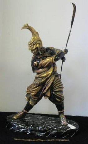 Rare Michael Sutty, Samurai Warrior W/nagata & Sword: