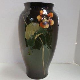 Large Decorated Ruko Pottery Vase, C. 1900: