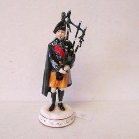 "Michael Sutty ""pipe Major, Royal Irish Rangers, 1980"":"