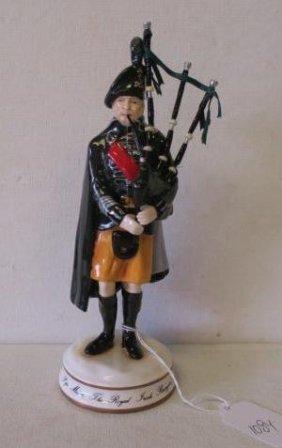"Michael Sutty ""pipe Major Royal Irish Rangers, 1980"":"
