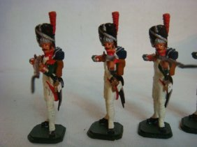 Four French Grenadiers 54mm Hand Painted Model