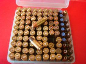 100 Rounds Of 9mm Lugar Ammunition: