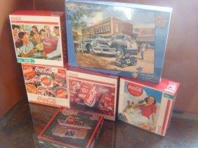 Coca-cola Nostalgic Six Jigsaw Puzzles: