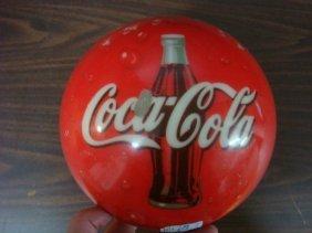 Coca Cola Bowling Ball: