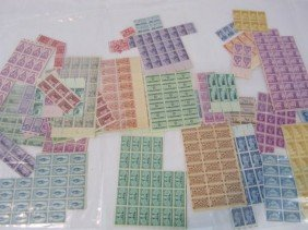 C93-47   7 PLASTIC BAGS WITH ASSORTED STAMPS